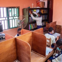 Our well equipped and functional school library